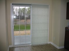 panel track shade made with solar shade material panel track shades pinterest