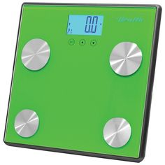 PYLE-SPORTS PHLSCBT4GN Bluetooth(R) Digital Weight & Personal Health Scale with Wireless Smartphone Data Transfer (Green)