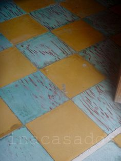 cement tiles / azuléjos hidráulicos. xico, veracruz, méxico. ina casados