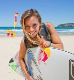 Sport on Saturdays: We interview surfer Sally Fitzgibbons. Read more on Mamamia.com.au. #sport #surfing