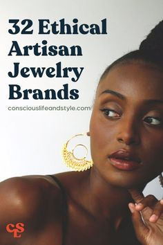 There's something undeniably special about wearing uniquely handcrafted, fair trade jewelry that you can know was made slowly and thoughtfully with care. This guide features 32 incredible fair trade and artisan-made jewelry brands to help you find a special piece (or a few!) that match your style. #ethicaljewerlybrands #artisanmadejewerly #fairtradejewerly #ethicaljewerly Brand Guide, Fair Trade Jewelry, Ethical Shopping, Ethical Fashion Brands, Circular Economy, Fair Trade Fashion, Eco Friendly Fashion, Consumerism, Slow Fashion