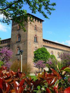 #Pavia - Beccalli Alberto - Castello Visconteo. Pavia - Visconti Castle. #Italy