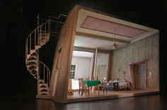 A Streetcar Named Desire. Liverpool Playhouse. Scenic design by Gideon Dvey.