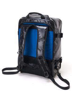 61fd43f86c0f4 Tarpaulin 2-Way Carry-On Black Tarpaulin