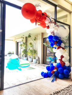 Home of the most beautiful and innovating party decor shop. Creating amazing party decor as well as paper, floral and balloon installations in Los Angeles. Fourth Of July Decor, 4th Of July Decorations, 4th Of July Party, Balloon Decorations, July 4th, Balloon Ideas, Ballon Backdrop, Baloon Garland, Fouth Of July Crafts