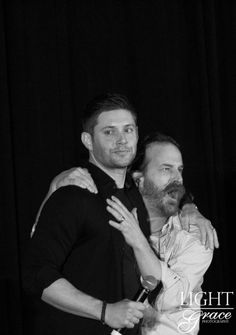 Taylor @TaylorJay007  . @crissvill Jensen Ackles and Richard Speight | Salute to Supernatural Jacksonville 2016