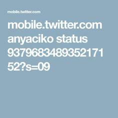 mobile.twitter.com anyaciko status 937968348935217152?s=09