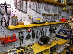 Tips to look at when turning your garage in to a workshop.