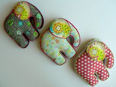 almohadones elefantes