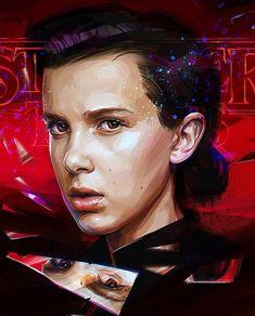 Punk Eleven feom season 2 #StrangerThings by artist Viktor Miller Gausa.