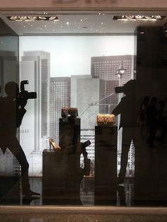 Dior Paparazzi windows, Jakarta visual merchandising
