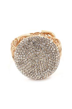 Crystal Lora Bracelet in Gold