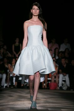 A look from the Christian Siriano Spring 2015 RTW collection.