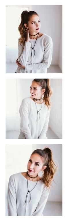 2017's runways continue to have an eye on the neck.  Are you ready to hop onboard the trend that's been creeping back thanks to an overall 90's resurgance? Chokers have been spotted on stars from the airport to the red carpet.  Here's your chance to add to your jewelry collection, a piece that can be worn anywhere. Can you say versatility?