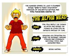 The Alpha Nerd by Caldwell Tanner... OH no, is that what i am ??? LOL