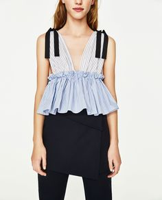 Immagine 2 di TOP RIGHE COMBINATE di Zara