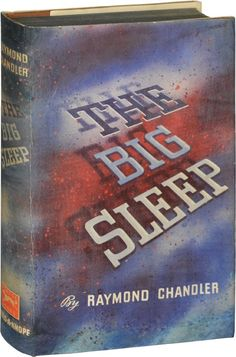 The long goodbye raymond chandler vintage dust jacket book cover first edition of the big sleep by raymond chandler 1939 fandeluxe Document