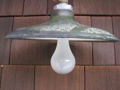 Antique Barn Light