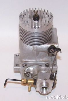 "Very Nice (Made In Italy) Rossi .60 RV ""Speed"" R/C Model Airplane Engine"