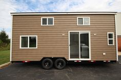 A new tiny house from Titan Tiny Homes named the Everest. The 330 sq ft home is currently available for sale for $54,000.