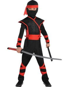 Toddler Boys Shadow Ninja Costume - Party City