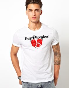 "Men's ""Heart Breaker"" Valentine's T-shit"