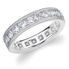 Absolutely gorgeous eternity ring- The Meaning Behind Eternity Rings
