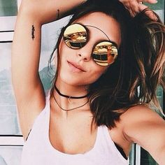 Stylish mirror sunglasses http://www.justtrendygirls.com/stylish-mirror-sunglasses/