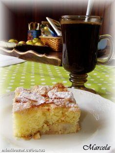 jablečná šarlota- rychlokoláč ke kávě