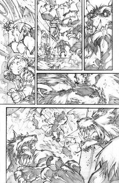WoW Curse of the Worgen 4 pg08 by LudoLullabi.deviantart.com on @deviantART