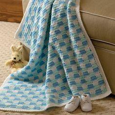 Checkerboard Baby Blanket ~ free pattern  ✿⊱╮Teresa Restegui http://www.pinterest.com/teretegui/✿⊱╮