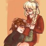Baby. < Awww! Hiccup and Astrid are going to have a baby! :D