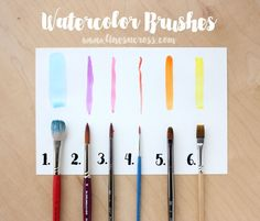 Best Watercolor Sets for Beginners. These are the sets I actually own, use, love and recommend for those just getting started with watercolors!