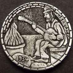 You searched for blues - القمار في الكازينو Wood Sculpture, Sculptures, Hobo Nickel, Coin Art, Copper Penny, Rare Coins, Weird And Wonderful, Midnight Blue, Blues