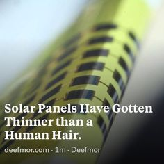 South Korean scientists have created solar PV cells that are 1 micrometer thick hundreds of times thinner than most PV and half again as thin as other kinds of thin-film PV. read full article link in bio  @wearedeefmor  @wearedeefmor  #thefutureiscloserwithus  #solarpower #solarpanels  #pv  #thinsolarpanels #energy #solarenergy #renewable  #renewables #renewableenergy  #renewableresource  #deefmor #deefmorstagram  #deefmorscience #deefmordaily  #deefmorpost #deefmorfuture  #deefmorinnovation…