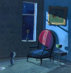 Oliver Jeffers - Use as a prediction image for pre-reading of the text.