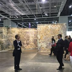 Art Basel HK Pae White's Metallics & Modules (2013 – 2016) is presented by Neugerriemschneider in the Encounters section.