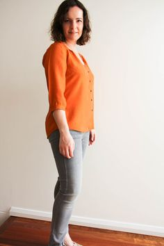 Sewing with Silk - My version of the Camas Blouse | by Jo A. | Stitch 56