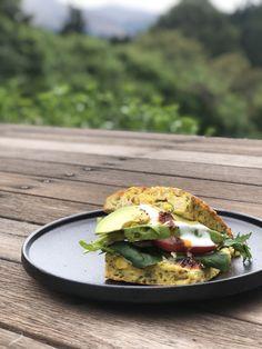Zucchini Slice – With Options Zucchini Slice, Chorizo Sausage, Baking Tins, Base Foods, Fresh Herbs, Cherry Tomatoes, My Recipes, Family Meals, Feta
