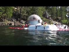 Undersea Voyager Submarine Test Dive at Pinecrest Lake - July 20, 2013