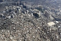An aerial view of Mecca is seen on October 5, 2014.
