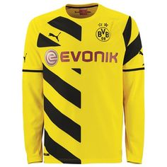 Puma BVB Home Shirt 2014/15 - Long Sleeve - Kids BVB Home Shirt 2014/15 - Kids - Long Sleeved -YellowTheclubs history and identity is embodied within each garment of the official PUMA Licensed Football Apparel, proudly worn by players and fans o http://www.MightGet.com/february-2017-2/puma-bvb-home-shirt-2014-15--long-sleeve--kids.asp