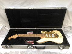 Washburn custom shop ivory electric guitar made in the USA. Washburn Guitars, Birdseye Maple, Floyd Rose, Nuno, Bass, Ivory, Shopping, Flat, Lowes