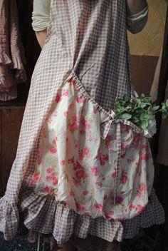 amazing pocket! :: Crafty :: Sew :: Clothing ~ MLLE SELENA : Ma robe Tablier