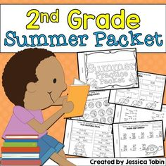 Summer PacketSecond Grade going into Third GradeThis summer packet made for the summer between second and third grade. The summer slide affects students in the two and a half months that they're not in school every day. Help prevent this summer slide with a 30-day book for students to work on!