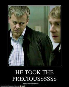 He took the preciousssss...