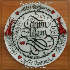 Decorative Plates, Calligraphy, Artist, Lettering, Artists, Calligraphy Art, Hand Drawn Typography, Letter Writing