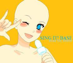 Sing it BASE by SAKU02.deviantart.com on @DeviantArt