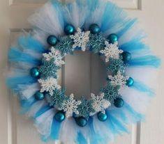 Aprende cómo hacer 9 hermosas coronas navideñas con tul ~ Belleza y Peinados