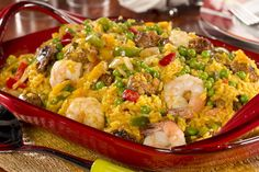My Mother-in-Law's Paella   MrFood.com  http://www.mrfood.com/Shellfish/My-Mother-In-Laws-Paella/ml/1/?utm_source=ppl-newsletter&utm_medium=email&utm_campaign=mrfooddaily20160708